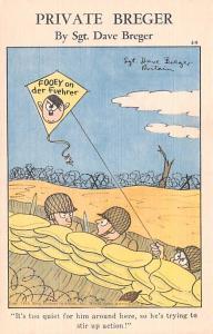 By Sgt Dave Breger Propaganda Anti Hitler Unused