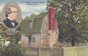 North Carolina Raleigh Andrew Johnson House
