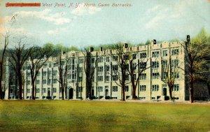 NY - West Point. North Cadet Barracks