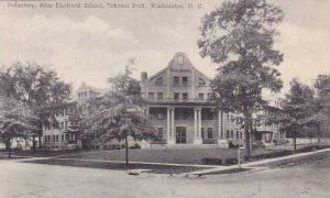 Washington DC Dormitory Bliss Electrical School Takoma Park Albertype