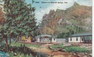 ELDORADO SPRINGS , Colorado , 1910 ; Entrance
