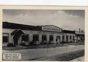 MALONE JUNCTION , Ohio , 1930s ; Memorial Monument Company