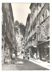 RP: Getreidegasse , SALTZBURG , Austria , 30-50s