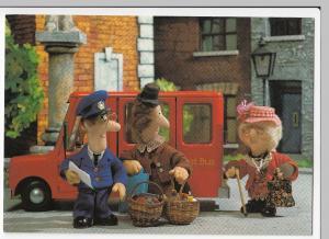 Postman Pat - Mrs Hubbard & Granny Dryden Get A Lift Postcard, Unposted