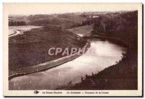 Old Postcard Creuse Crozant Illustree Turning Creuse