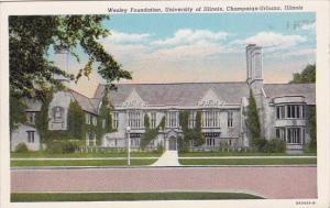 Illinois Champaign Urbana Wesley Foundation University Of Illinois 1949