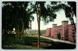 Somersworth New Hampshire~Great Falls Manufacturing Co Factory~#3 Mill~c1910