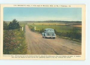 Unused W-Border TOWN VIEW SCENE Moncton New Brunswick NB o1155