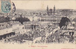 France Nancy Vue panoramique 1908