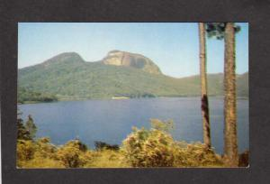 SC City Reservoir Table Rock Mountain Mtn Greenville South Carolina Postcard