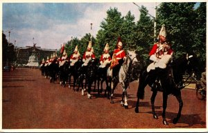 England London Horse Guards In The Mall