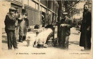 CPA PARIS Vecu. La Soupe aux Halles (575027)