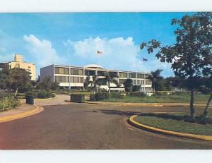 Unused Pre-1980 COURTHOUSE SCENE San Juan Puerto Rico PR d2467