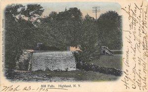 Mill Falls Highland, New York Postcard