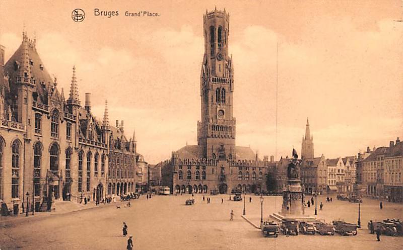 Bruges Belgium, Belgique, Belgie, Belgien Grand Pl Bruges Grand Pl