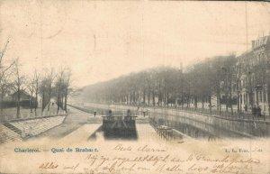 Belgium Charleroi Quai de Brabant 04.75