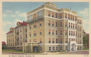 DECATUR, Illinois, 1930-40s; St. Mary's Hospital