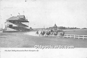 The Start, Trotting Association Track Lexington, Kentucky, KY, USA 1907