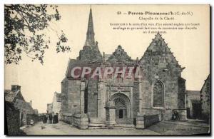 Postcard Old Chapel Ploumanch clarity