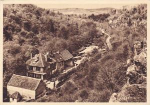 AVALLON, Valley of the Cousin, Hostellerie du Moulin des Ruats, Yonne, France...