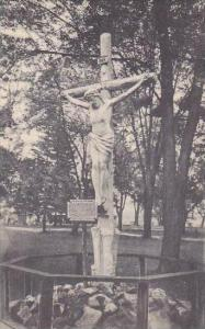 New York Auriesville Image Of Christ Crucified Artvue