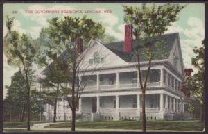 Governors Residence,Lincoln,NE Postcard