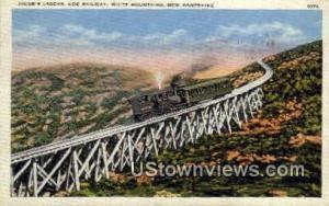 Jacob's Ladder, Cog Railway White Mountains NH 1936