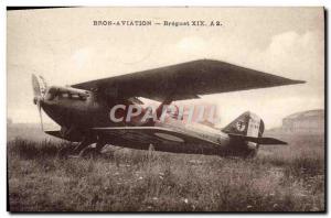 Old Postcard Jet Aviation Bron Aviation Breguet XIX