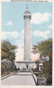 Maryland Baltimore Washington Monument