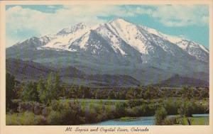 Colorado Lakewood Mount Sopris And Crystal River