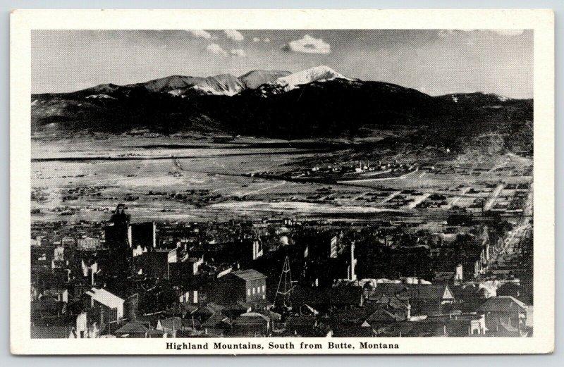 Butte Montana~Summit Valley~Highland Mountains~Silver Box News~Greycraft~1940s