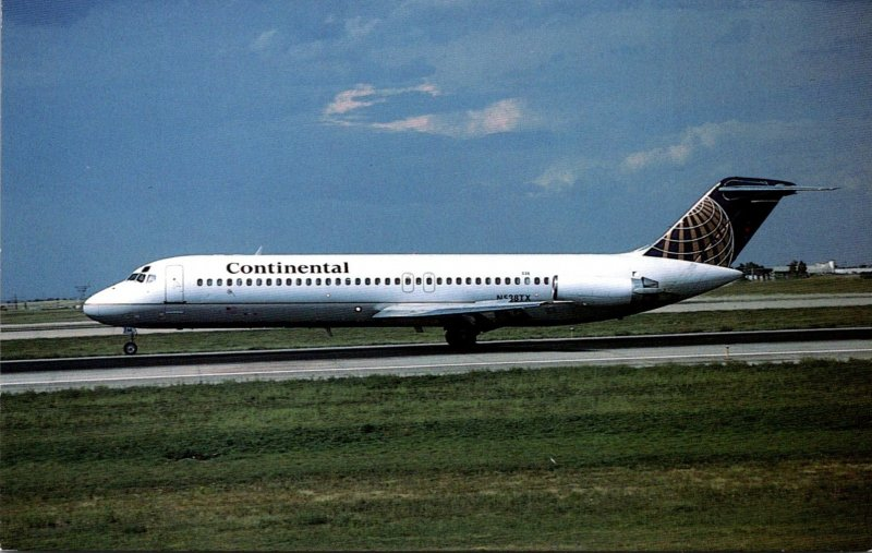 Continental Airlines McDonnell Douglas DC-9-32 At Stapleton International Air...