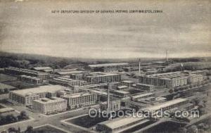 New Departure Division of General Motors Corp Bristol, CT, USA Postcard Post ...