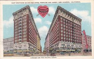 California Los Angeles Hart Brothers 5,000,000 Hotel Rosslyn And Annex