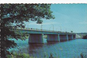 St Francis River Bridge Drummondville Quebec Canada
