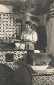 RP; TAXCO , Mexico , 1955 ; Woman in Kitchen