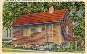 OH - Marietta. Oldest House in Ohio