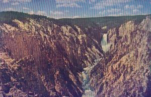 Wyoming Yellowstone National Park Grand Canyon Of The Yellowstone And Lower F...