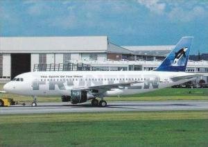 FrontierAirlainea Airbus 319 D AVYK