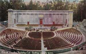 BERKELEY, California, 1900-1910s; Greek Theatre