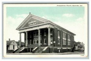 Vintage View of Presbyterian Church, Boonville IN c1930 Postcard M6
