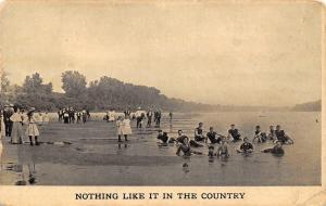 Nothing Like it Delphos Ohio~Vintage Bathing Beauties~Victorians~1910 Postcard