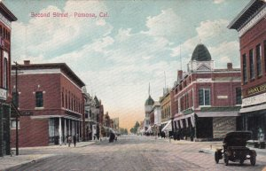 POMONA , California , 1900-10s ; Second Street