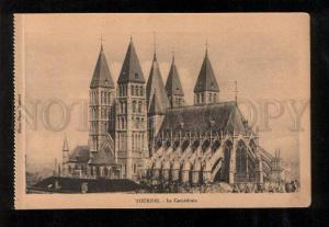 060219 BELGIUM Tournai La Cathedrale Vintage PC
