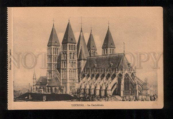060219 BELGIUM Tournai La Cathedrale Vintage PC