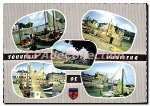 Modern Postcard Honfleur memory