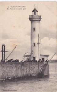 Lighthouse, Le Phare De La Vieille Jetee, Saint-Nazaire (Loire-Atlantique), Fran