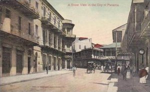 Panama Street View In The City Of Panama