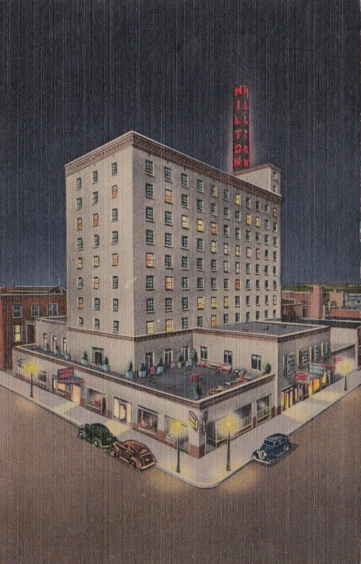 New Mexico Albuquerque Hotel Hilton Curteich sk655