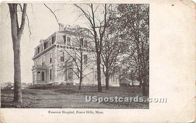 Emerson Hospital Forest Hills MA Unused